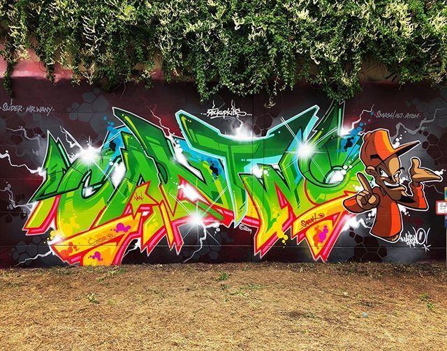 @cantwo #graffiti #graff #instagraffiti #graffitiporn #cantwo https://ift.tt/2JPIw6i  