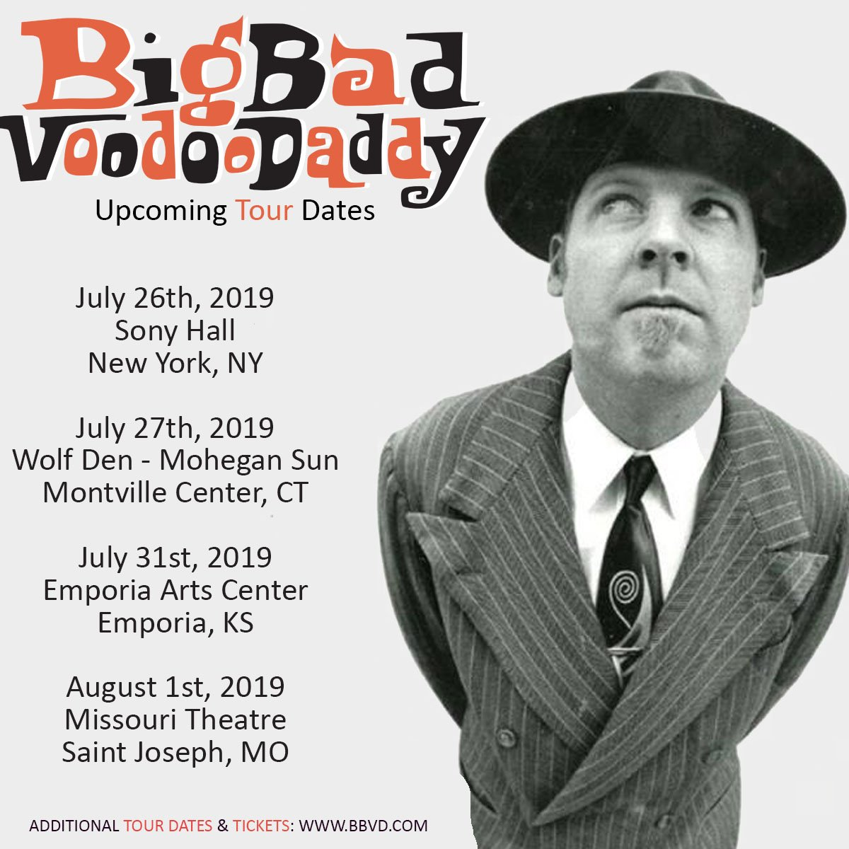 Big Bad Voodoo Daddy On Twitter Get Ready For Big Bad