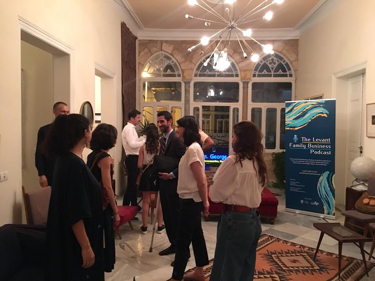 Our General Manager, Farida El Agamy shares a unique insight into our inspiring Podcast Listening Party which took place in Beirut last month.  Learn more here: http://tharawat.org/the-levant-family-business-podcast-listening-party/… #LevantFamilyBusinessPodcast #FamilyBusiness #Podcast  #Succession #Governance