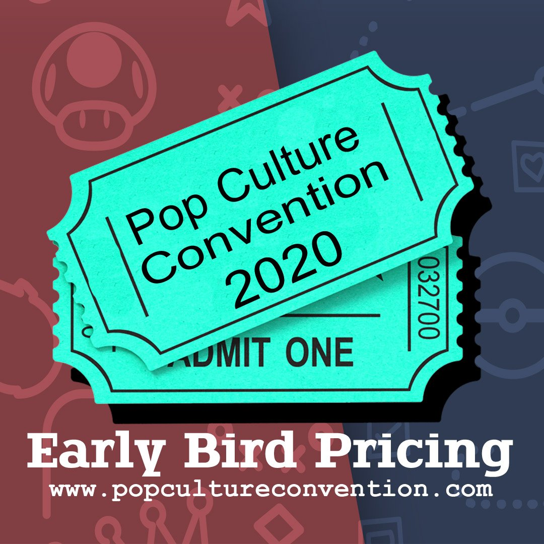 2020 Pop Culture Events.Pop Culture Convention Utah Pop Culture Con Twitter