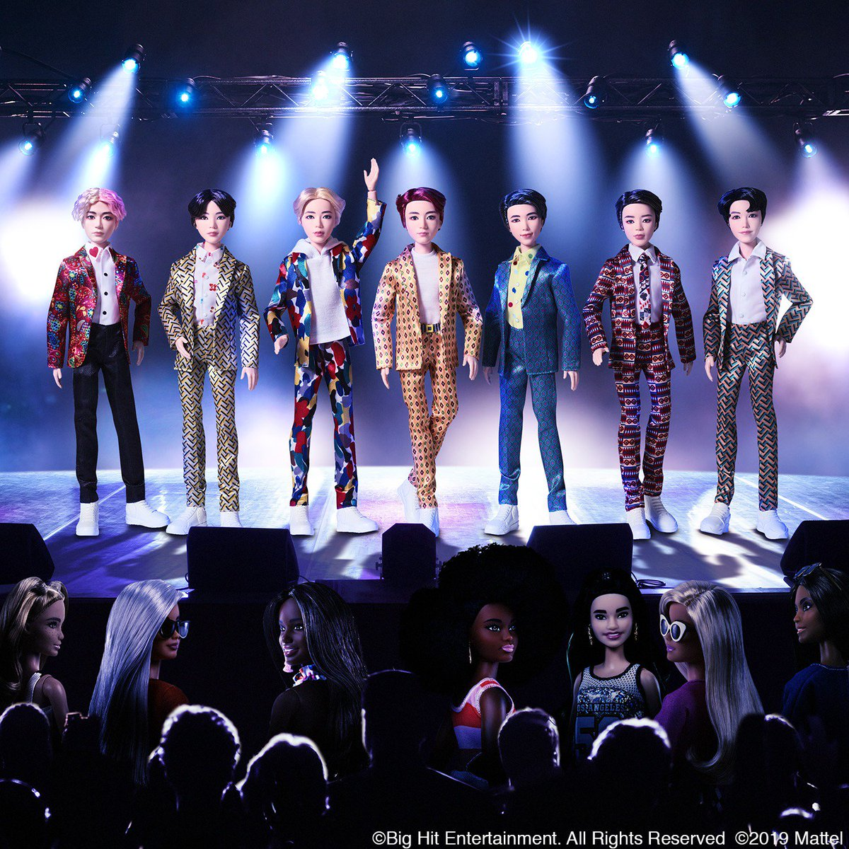 Friends ✅ BTS ✅Best night ever ✅It's nearly showtime for Mattel's #BTS dolls, now available for pre-order at retailers worldwide! #BTSxMattel #BTSdollsofficial