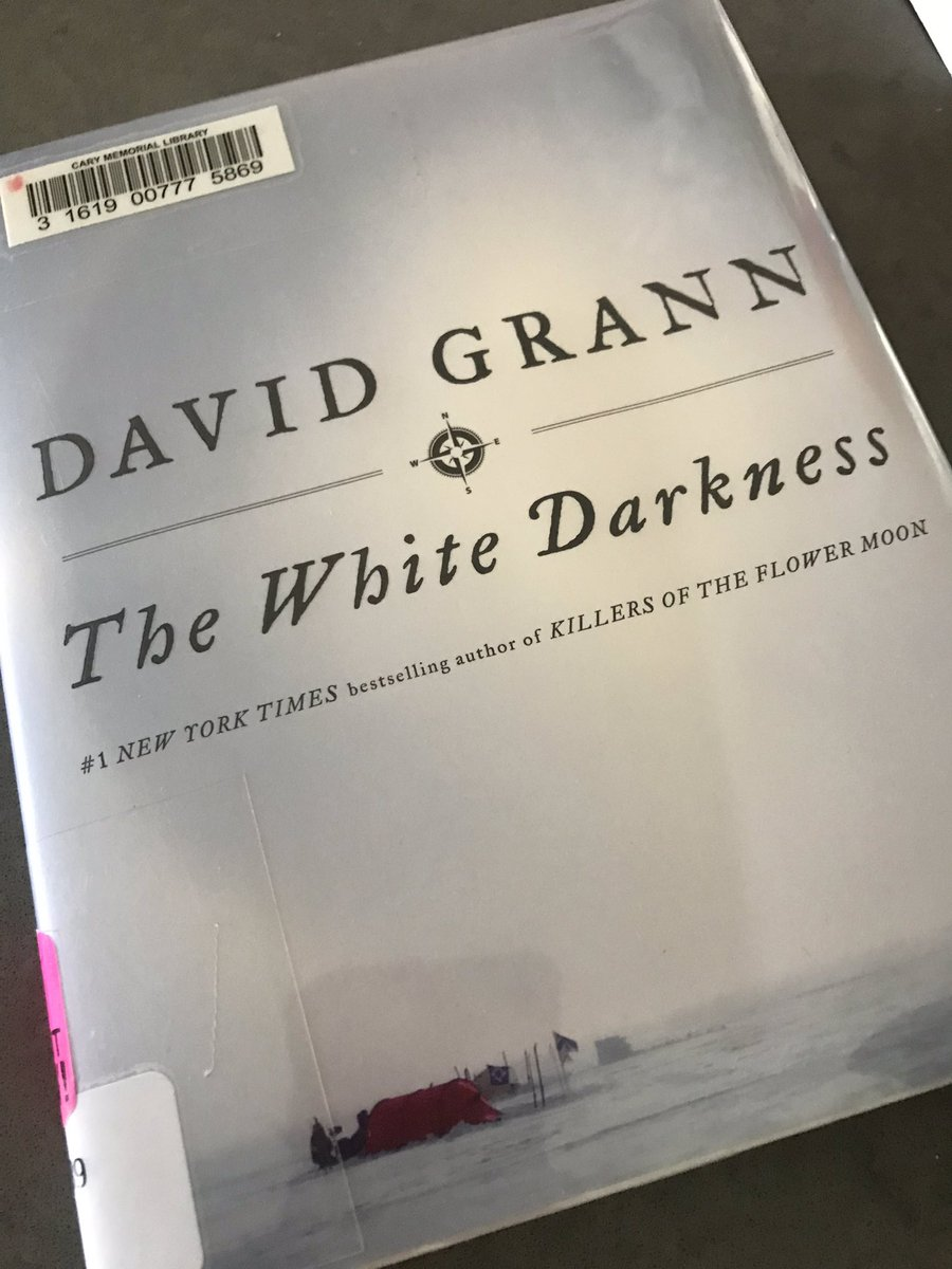 Getting my summer reading on for the super exciting @DavidGrann fall visit to #glenbardwest @GWEnglishDept @GWHilltoppers