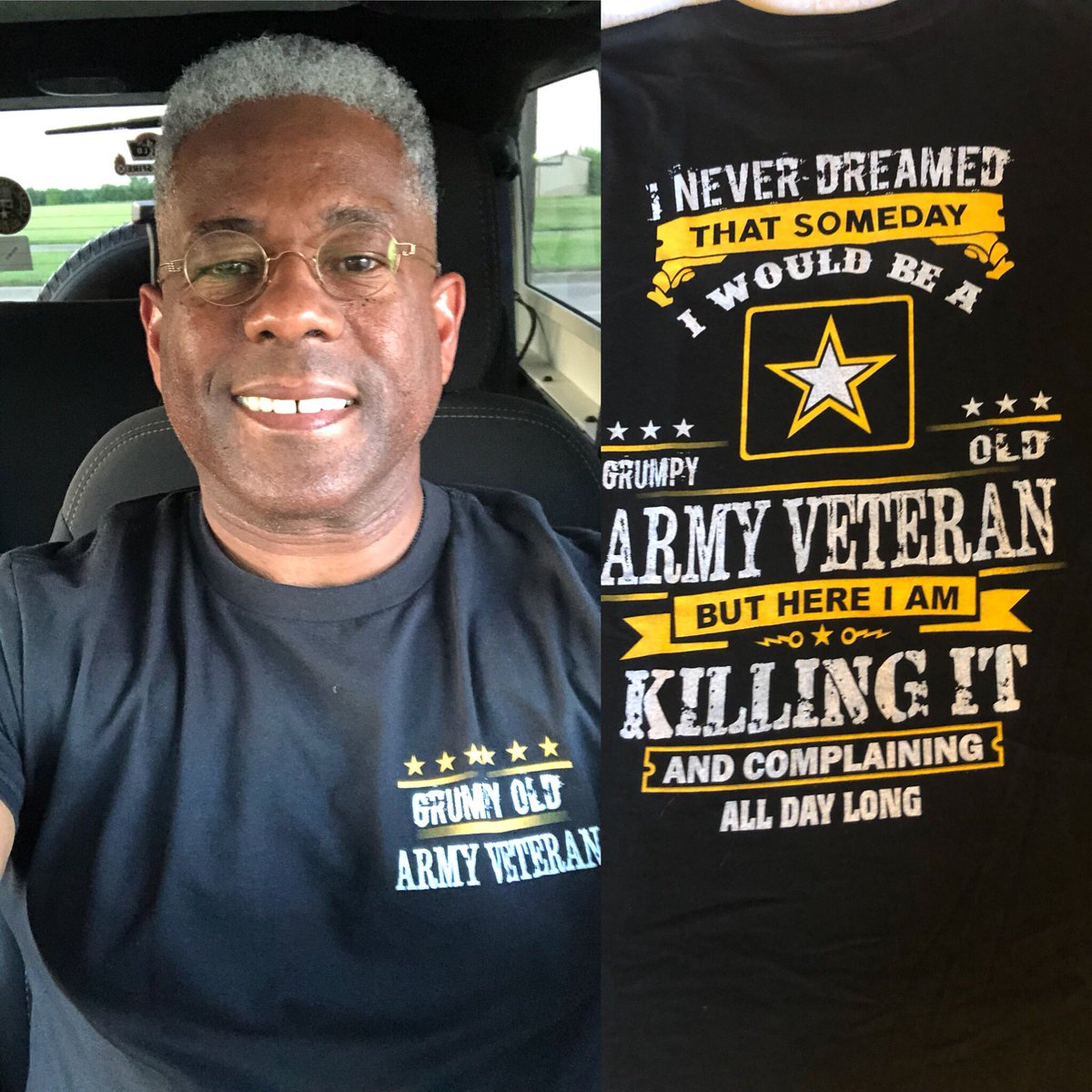 Greetings from Lawton/Ft Sill Oklahoma, check out my new t-shirt #tcot #TuesdayThoughts #veterans #tshirts https://t.co/tO802mwICI