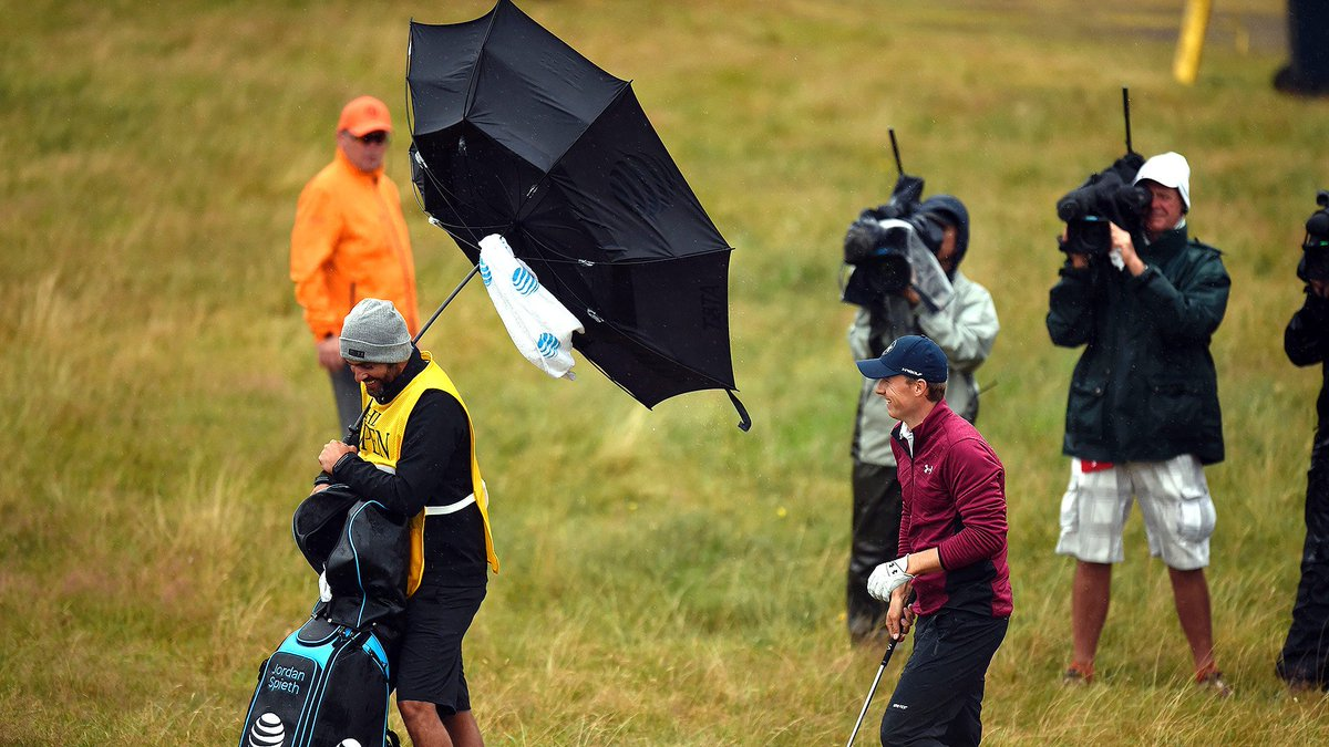Trying to beat the best players in the world while dealing with major championship pressure is hard. Trying to beat Mother Nature to win #TheOpen can be nearly impossible: watchgolf.ch/TPdUoi