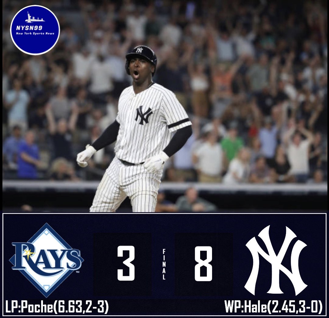 The Yankees win a thriller! Judge had a clutch go ahead homer and Didi sealed the game with a grand slam! #yankeeswin #sirdidi #allrise