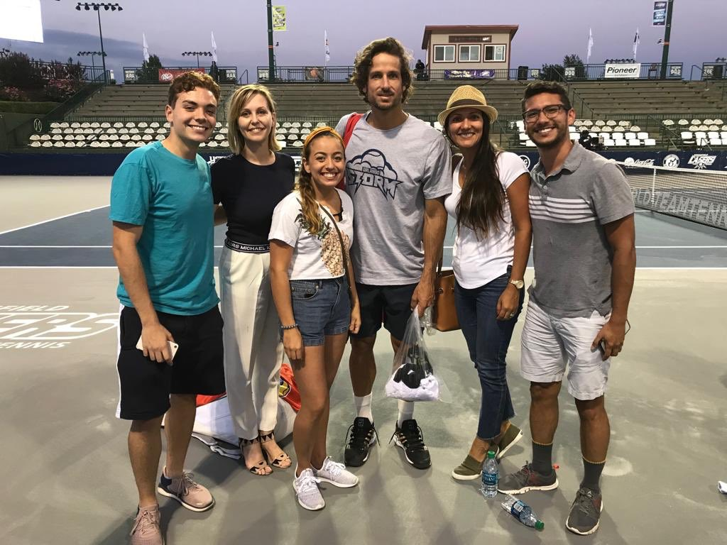 Hanging out with Grand Slam (Men's doubles French Open) winner @FelicianoLopez and Grand Slam (French Open Junior) winner @whitney_osuigwe  @SGFLasers @WorldTeamTennis @OrlandoStormWTT #SpringfieldLaser #tennis #GrandSlam  #Winners #Springfield #athletes<br>http://pic.twitter.com/5QW5HjWPkt