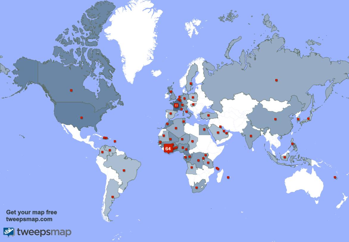 I have 17 new followers from Ivory Coast 🇨🇮, France 🇫🇷, and more last week. See https://t.co/Wd5WoMqbxU https://t.co/4uN34jeLbb