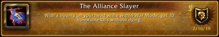 I just earned the [The Alliance Slayer] Achievement! #Warcraft<br>http://pic.twitter.com/DZ44Wk1pJo