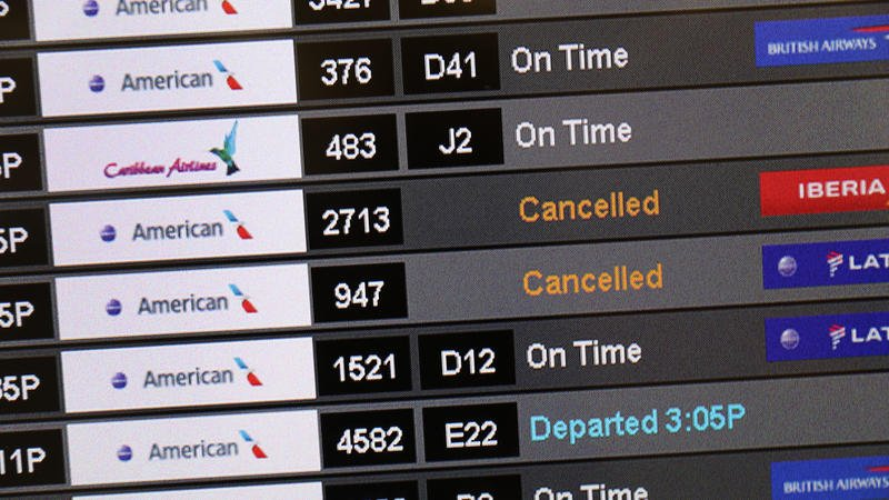 Airlines Cancel Boeing Max Flights Into November; Holiday Flights Could Be Next #airlines #BoeingMax #November #holidays #flights #NPRNews https://www.upr.org/post/2-major-airlines-cancel-thousands-boeing-max-flights-through-november…