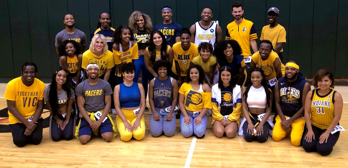 The audition process is over! Our 25 finalists were amazing the entire time.    Only thing left to do is announce the team! We'll share the 2019-20 squad with you tomorrow night!