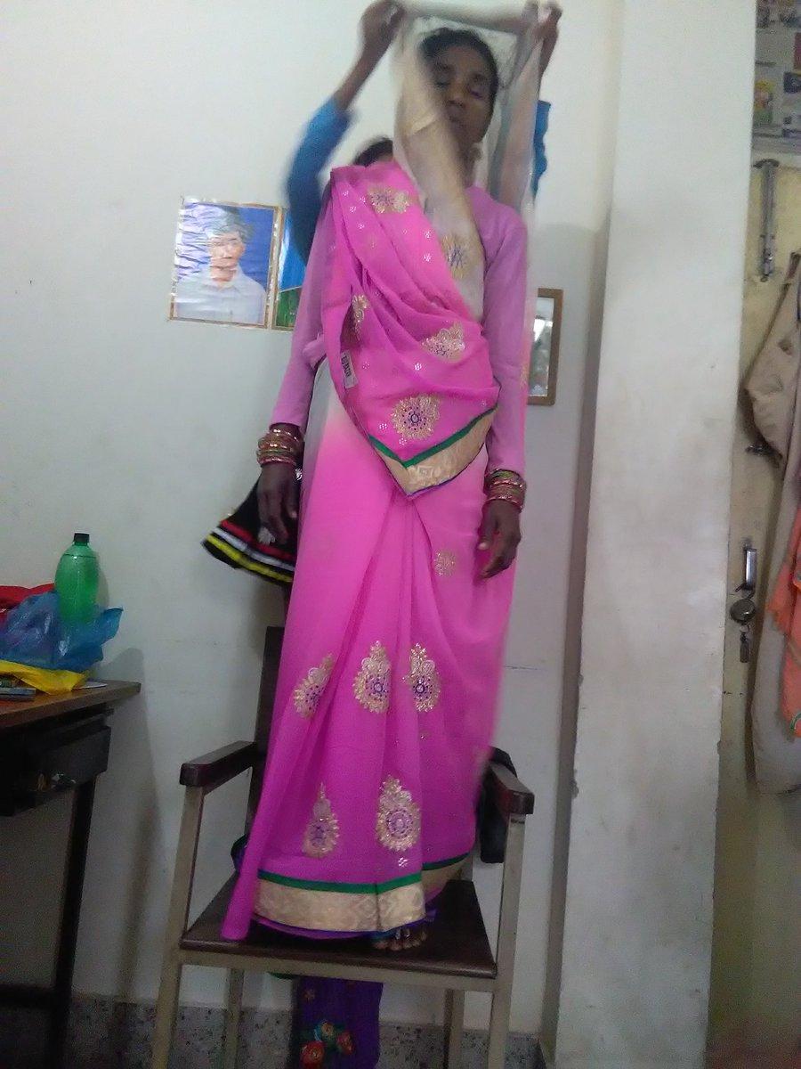 My mother #amma saree style #SareeTwitter #sareeswag #sareelove