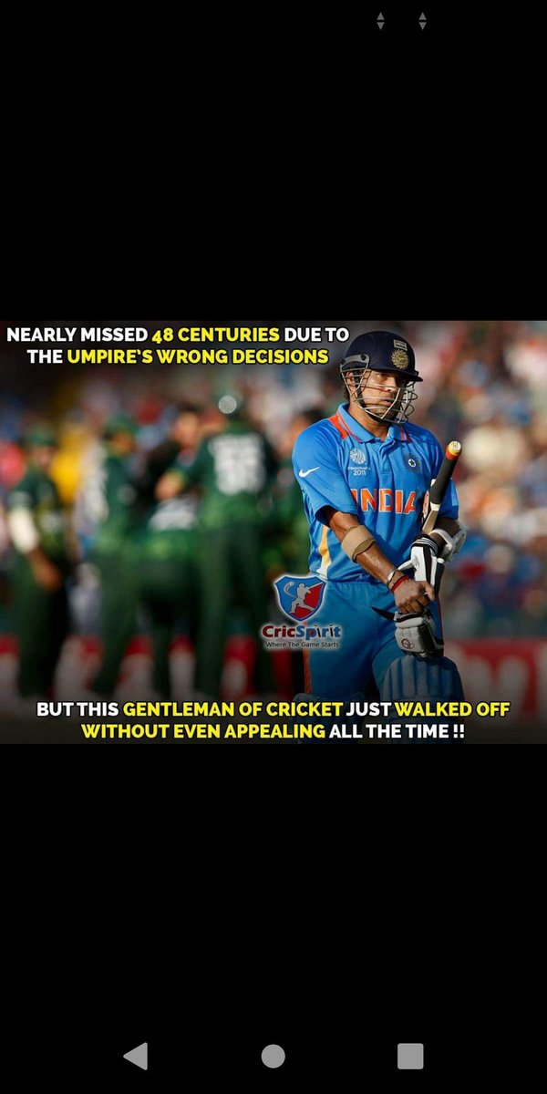 This is very true..No such DRS technology at that time when he was Playing..This I why he is known as God of Cricket..@sachin_rt #SachinTendulkar