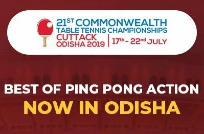 #Today 12 #Commonwealth Nations join the 21st edition of the 'Commonwealth #TableTennis #Championship' #CTTC2019 in #Odisha @sports_odisha  @ittfworld @manikabatra_TT @sathiyantt @sharathkamal1 @liampitchford @SamWalker_tt   #SportisGREAT