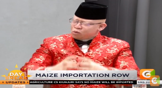 Isaac Mwaura on maize importation row: If China can feed its own 1.4b Chinese then how difficult is it to feed under 50 million people here in Kenya? The deficit is actually artificially created.   What are our agriculture economists doing in terms of planning? #DayBreak <br>http://pic.twitter.com/YVAdpkpqxn