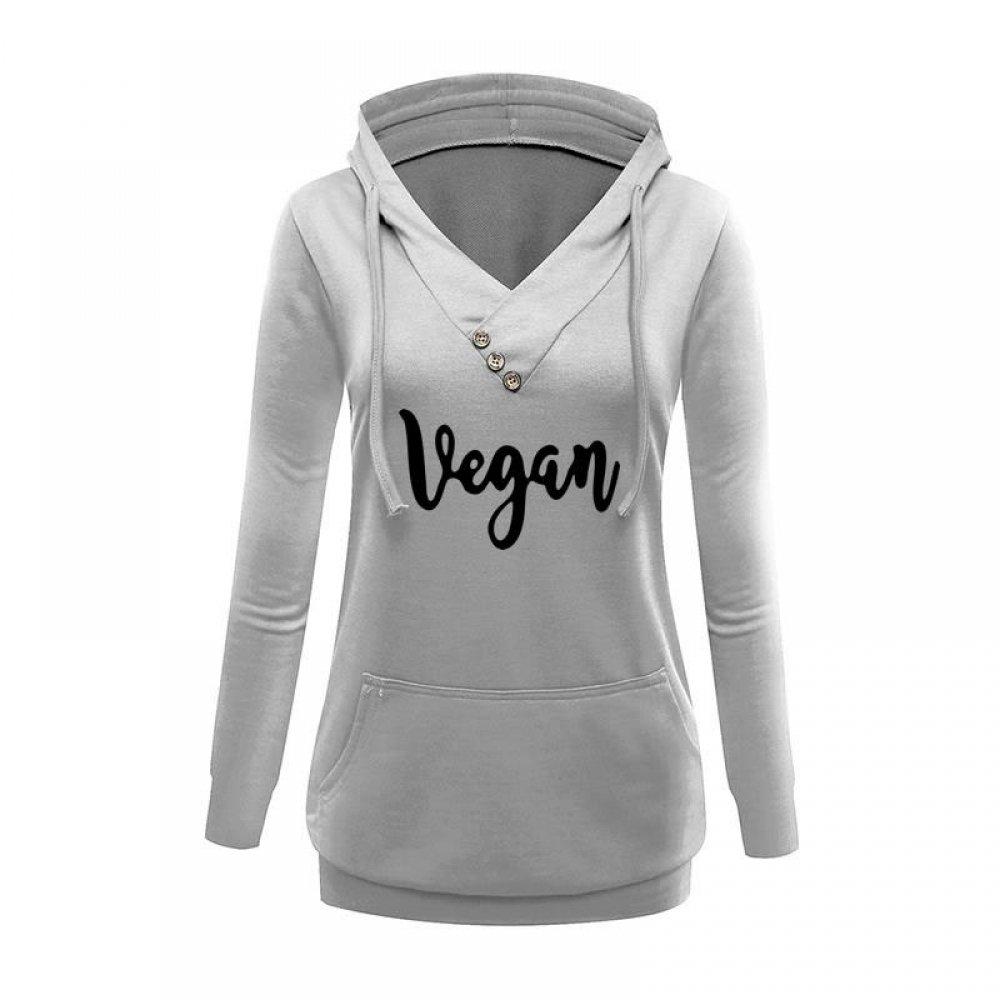 #eatclean #foodie Women's Vegan Printed Hoodie<br>http://pic.twitter.com/zUNwWmVzOU