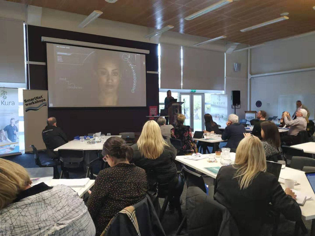 test Twitter Media - Jessica Tulp on digital human and education: #DigitalHumans can create new and compelling teaching experiences that can be accessed by anyone from anywhere. Learn more: https://t.co/VrwwKnrEgu #ELF19NZ https://t.co/v9FtXbw7oq
