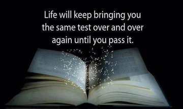 Life will keep bringing you the same test over and over again until you pass it! #WednesdayWisdom #WednesdayThoughts @loa_thesecret<br>http://pic.twitter.com/P4mYppObW2