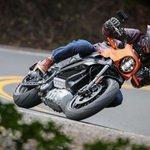 Image for the Tweet beginning: 2020 Harley-Davidson LiveWire First Ride