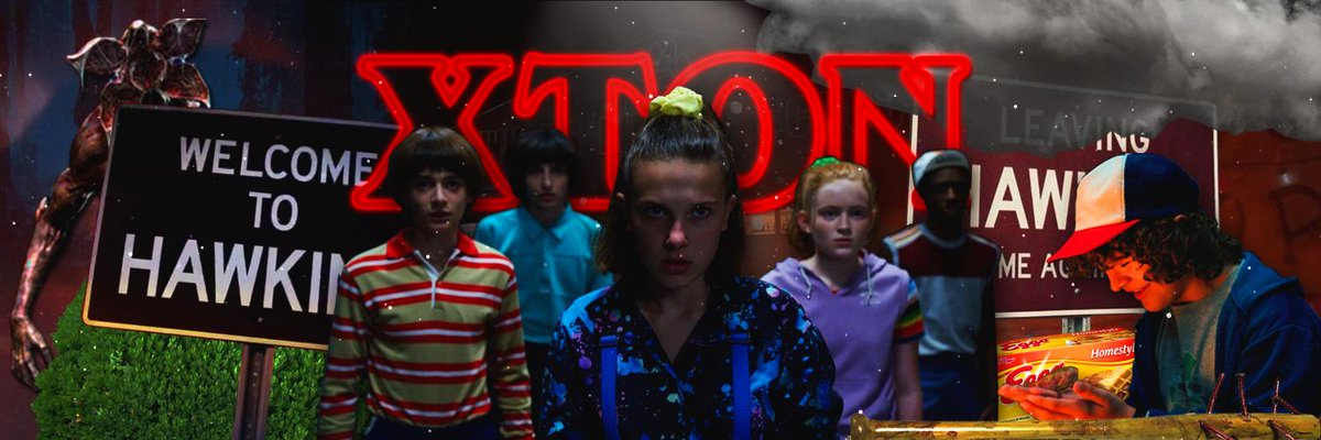 I really just went off makin myself this #StrangerThings header bruh gg