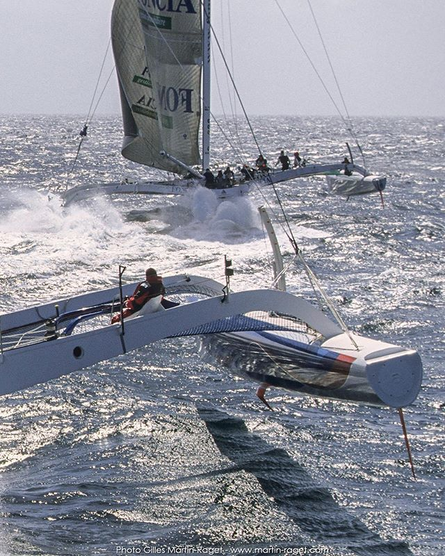 Those were the Orma 60s days  #sailing #yachting #instasail #yachtracing #regatta #sailingstagram #sailor #sail #lovesailing #boating #barcos #bateau #sailingphotography #instasailing #sea #oceanside  #instagood #marine #superyachts #multihull #sealovers… https://ift.tt/32yrjXU