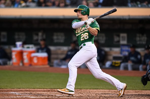 JUST IN: All-Star Matt Chapman blasts his 22nd homer and drives in five runs as the Oakland #Athletics rout the Seattle #Mariners 9-2 for their fifth straight win. http://nbcbay.com/yHeYwBl  [Photo: Getty Images]