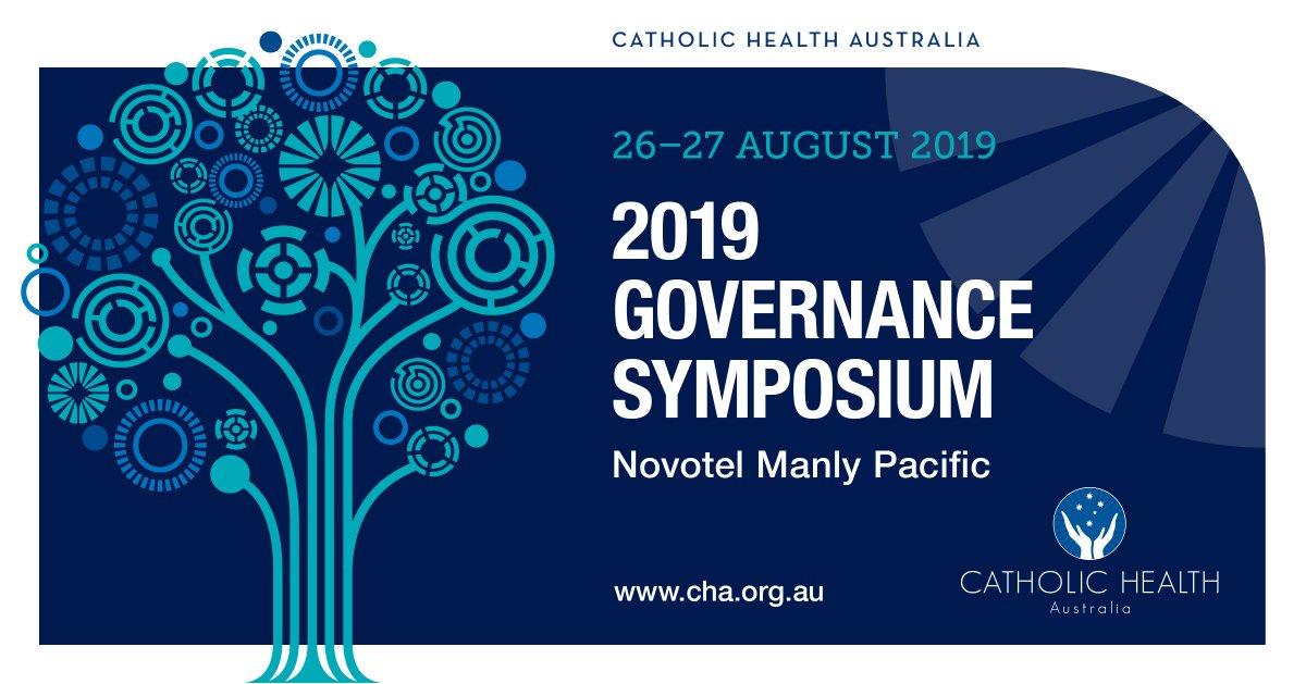 CHA Governance Symposium 2019 - Register NOW! - https://mailchi.mp/cha.org.au/cha-governance-symposium-2019-register-now… Stewards of the Mission encountering a 'Change of Era' #Catholic #stewardship #governance @acbc1