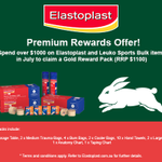 Image for the Tweet beginning: Proud partner @ElastoplastAU are offering