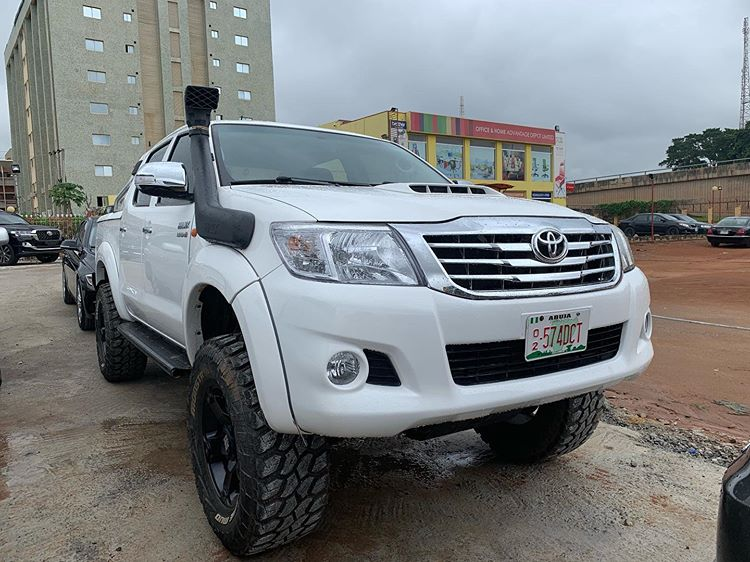 BEAST ALERT Upgraded 2012 diesel engine Toyota Hilux Air intake Can be used during floods  Going for 10m  DM for more info  Call 08118170832/whatsapp:08080155139 Location: Abuja.. nationwide delivery • • • • ———————————— #CanIDM #bbnaija19 #khadoni #davido #FaceApp<br>http://pic.twitter.com/TPy56bELZ1