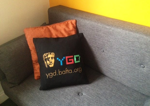 In further exciting #YGD2019 news, our Game Making 15-18 award winner Adam Pace has fashioned this amazing YGD cushion from his winner's tote bag! Some people are just too talented!  👏🤯