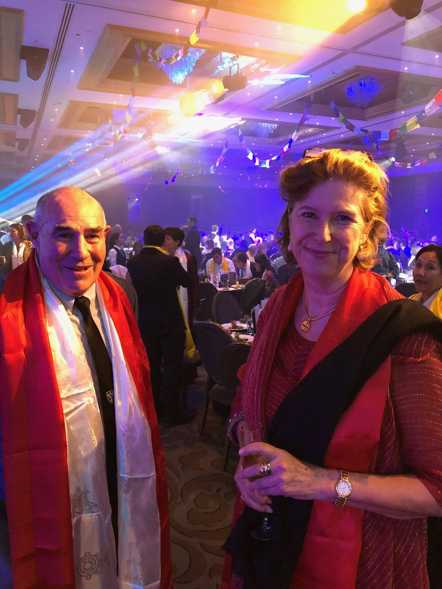 NZ Honorary Consul to Nepal Lisa Choeygal a stalwart of @Himalayan_Trust activities & great to have at the 100 years of  Sir Ed celebration in Auckland. @NZinIndia @MFATgovtNZ