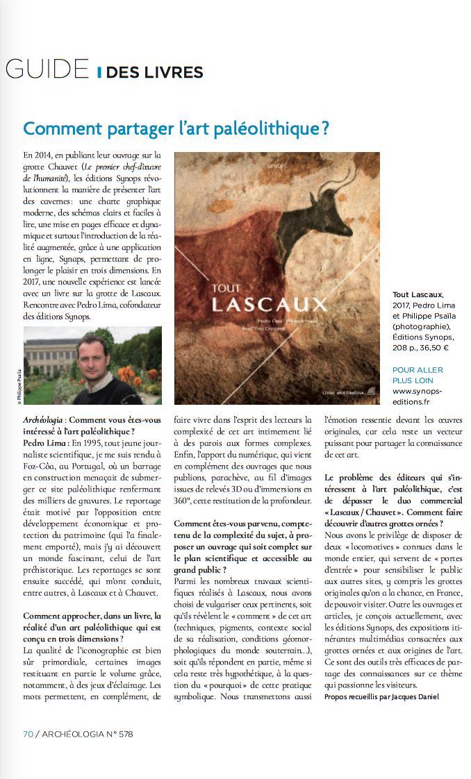 Une interview de @PrehistoTweet sur notre activité de partage de l'art paléolithique, à retrouver dans le numéro de juillet-août du magazine @ArcheologiaMag. Le magazine complet est disponible en kiosque ou sur :   https://www.archeologia-magazine.com/numero-578/angkor-dernieres-decouvertes.51686.php…