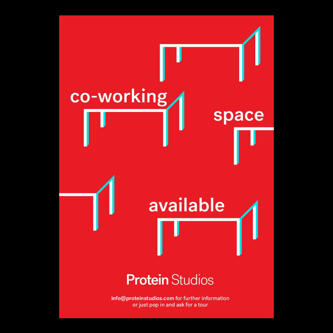 Protein Studios now have desks available in their Shoreditch Studio! If you are looking for a creative workspace with a fantastic network of cool companies then check them out @proteinstudios • proteinstudios.com👈 #grafikmedia