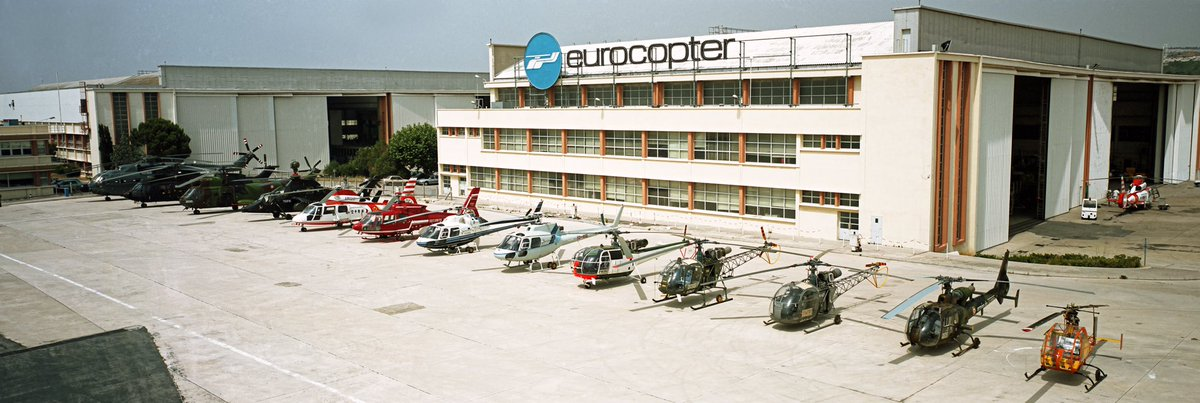 June 1993: full range of @AirbusHeli #helicopters Still the largest offer of solutions today #WeMakeItFly #Marignane80