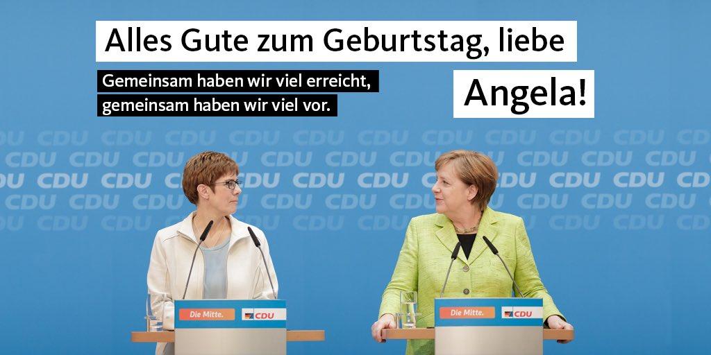 Alles Gute zum Geburtstag, liebe Angela!