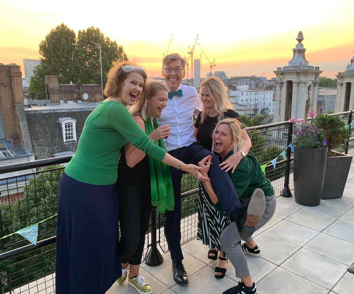 RT @LP_Emmabull Lovely evening celebrating @LP_localgov 10th birthday! Birthday bumps meant @LP_SeanHanson almost went over the balcony! #birthday