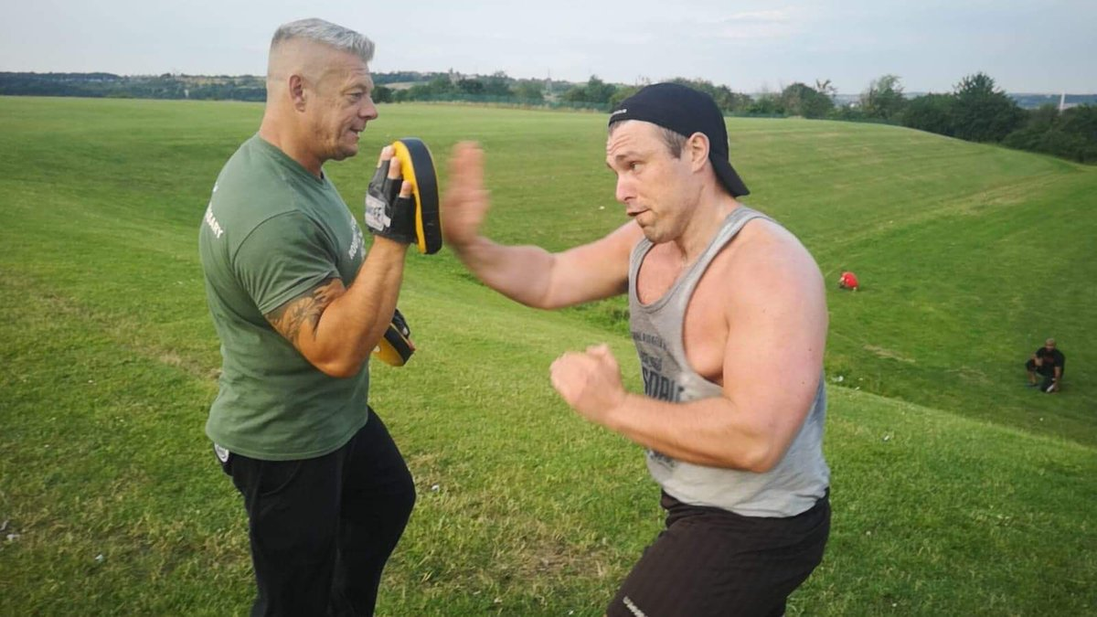 Back in training preparing for my MMA role for next year   It was a killer but well worth it!!  #actorslife #acting #MMA #film #methodacting #SelfDefense #boxing #actor