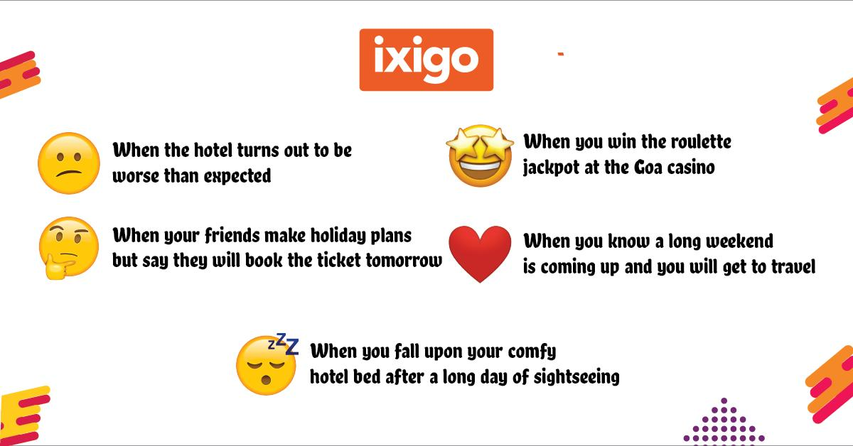 ixigo hashtag on Twitter
