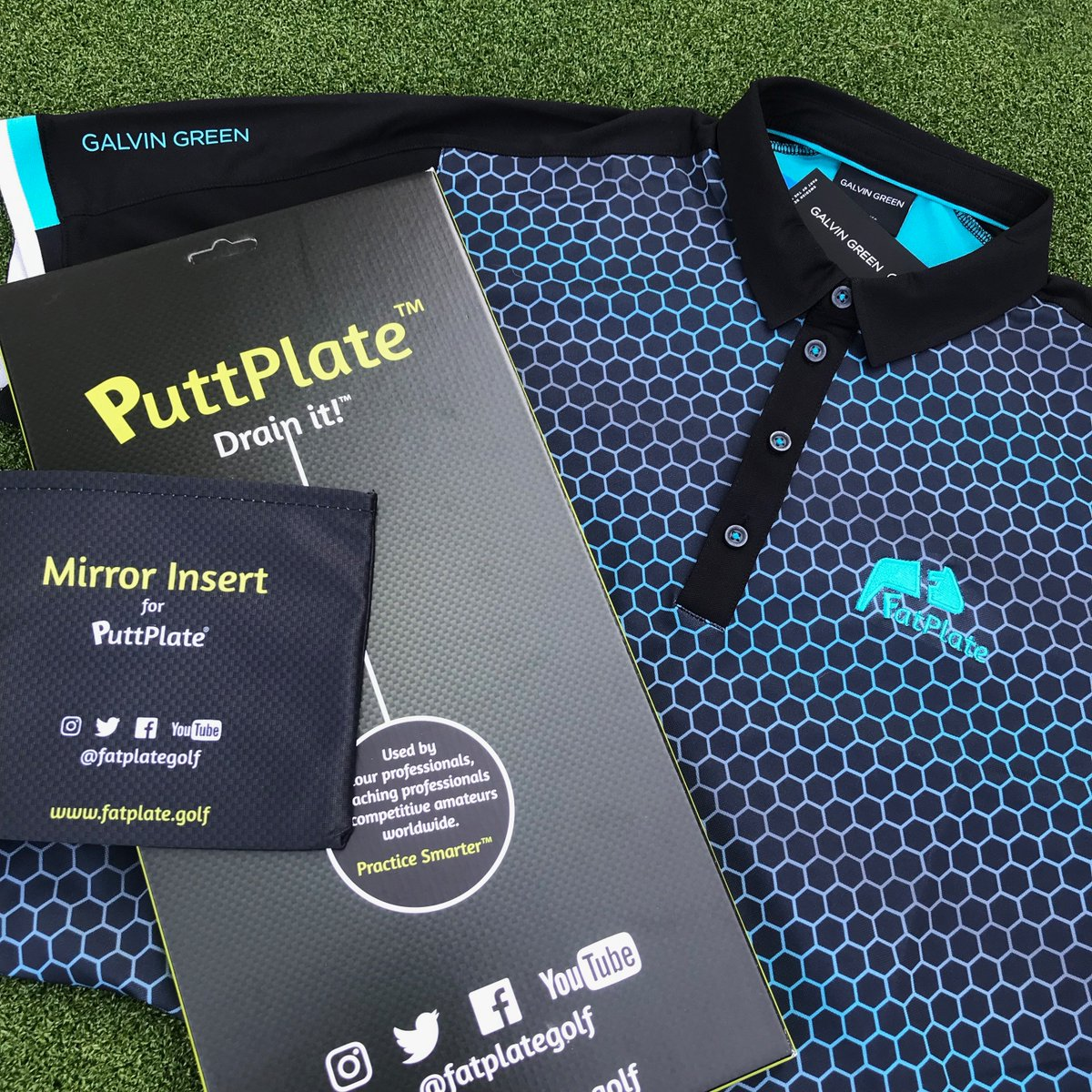 852eda80a ... logo PLUS a #PuttPlate with #MirrorInsert 1 Tell us your size 2 RT/Like  this post 3 Follow us & @galvingreen #galvingreen #myles #blackbluebird ...