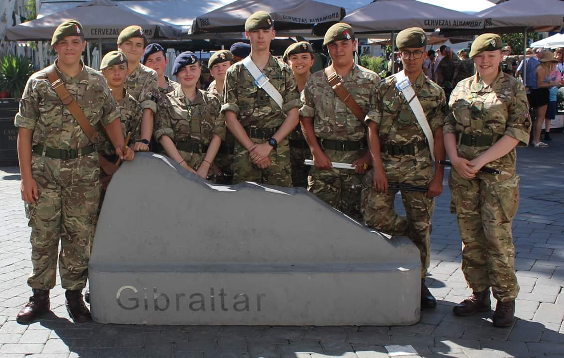 Today saw the Corps of Drums from Staffs and WestMids (NS) ACF and the Gibraltar #ACF joining the ACF Bands from Derbyshire, Hants and IOW and Lincolnshire ACF.They Played in Casemates Square for 500 plus locals and tourists!  What an achievement! #PROUD<br>http://pic.twitter.com/cLv29yG7E0
