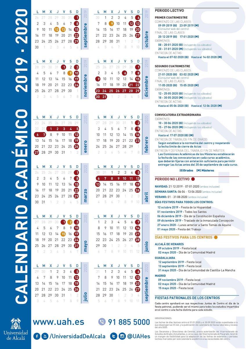 Uah Calendario Academico.Ceuah Ceuah Twitter