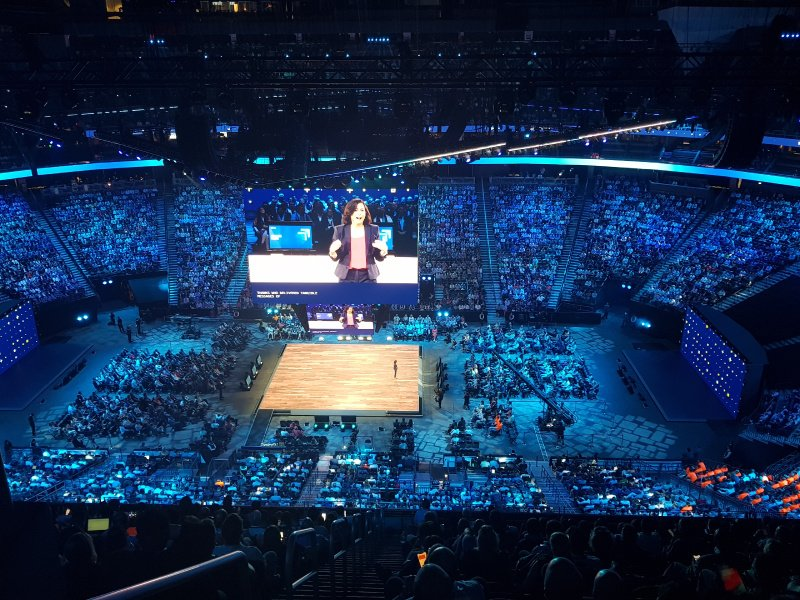 Proud to hear Codit has been mentioned during the opening corenote of #MSInspire19 including our @Buhler_Group customer case where #IoT is used to create a better world with food processing. More info about the story: http://bit.ly/2GlQyEU
