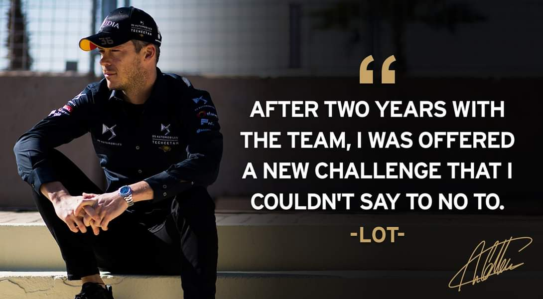 #BREAKING   @Andre_Lotterer will be leaving @DS_Performance   Where will we see andre next season...  #ThankYouLotterer  #ABBFormulaE #F1 #Indycar #sformula