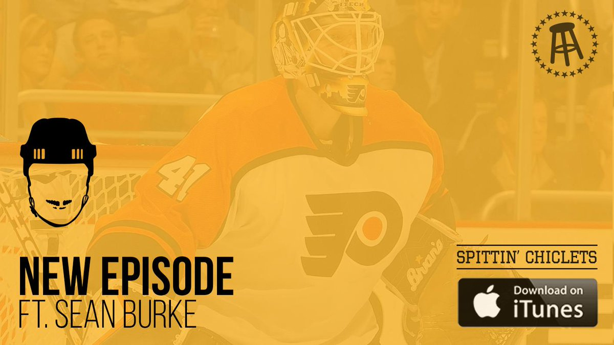 Spittin' Chiclets Episode 192: Featuring part 1 of a 2 part interview with former NHL goalie Sean Burke (@SBurkie1)  -Stampede -Whit's MassAm -Playing for Pierre -NHL news/notes  ++ a ton more  Presented by @NewAmsterdam  Listen--> https://podcasts.apple.com/us/podcast/spittin-chiclets/id1112425552…