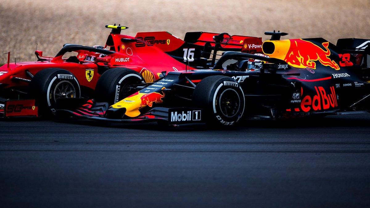 Wheel to wheel ⚔️ #BritishGP 🇬🇧 #F1