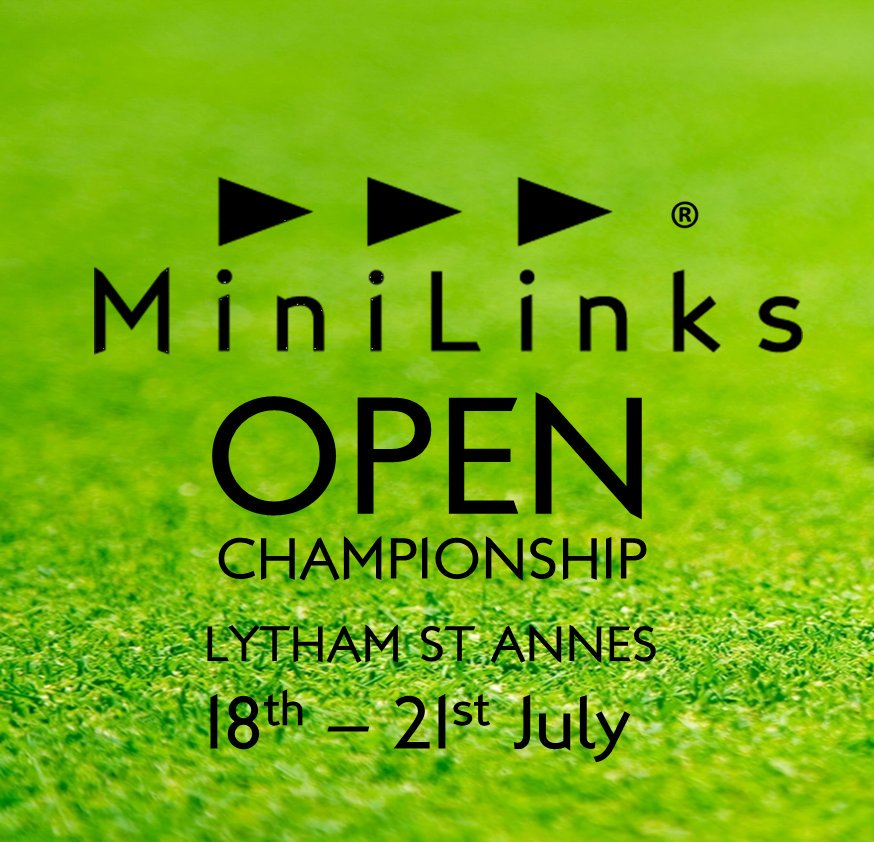 It's nearly time!! Last chance for a practice and a few regulars are already out. Open until 9pm #MiniMajor #MiniLinksGolf #TheOpen