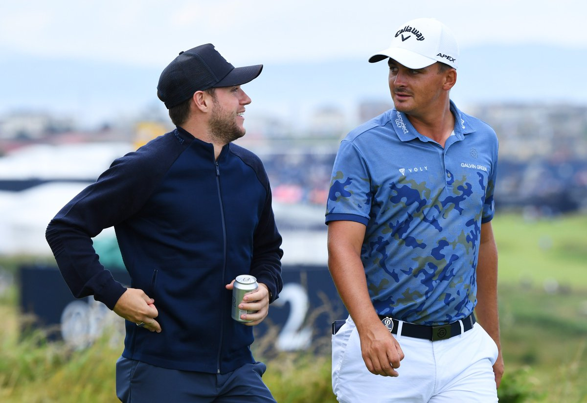 """""""That's who I am now. I've accepted it. I'm comfortable with it.""""  Overcoming a stutter, revenge at Royal Portrush & Niall Horan - Christiaan Bezuidenhout's backstory ahead of his Open debut is quite incredible  👉http://bbc.in/2XPLvAJ #TheOpen"""