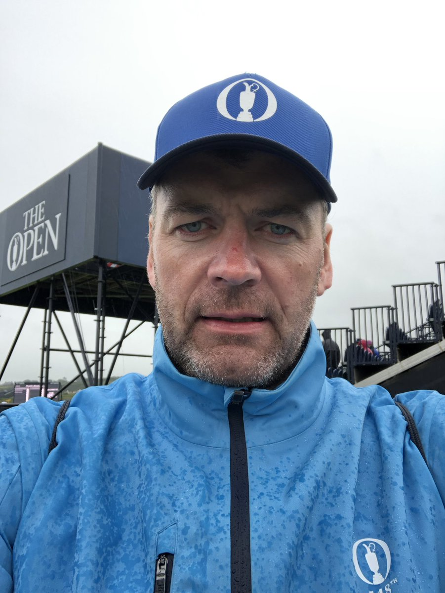 Peeing it down #TheOpen