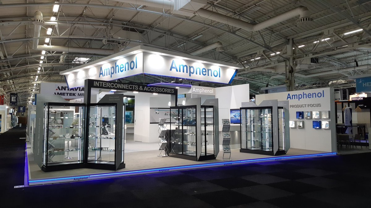 Last month, the Paris Air Show opened. The opportunity for Amphenol Air LB to once again thank everyone who contributed to this incredible week. Let's meet again in 2 years! #SIAE2019 #SalonDuBourget #ParisAirShow2019 #Amphenol