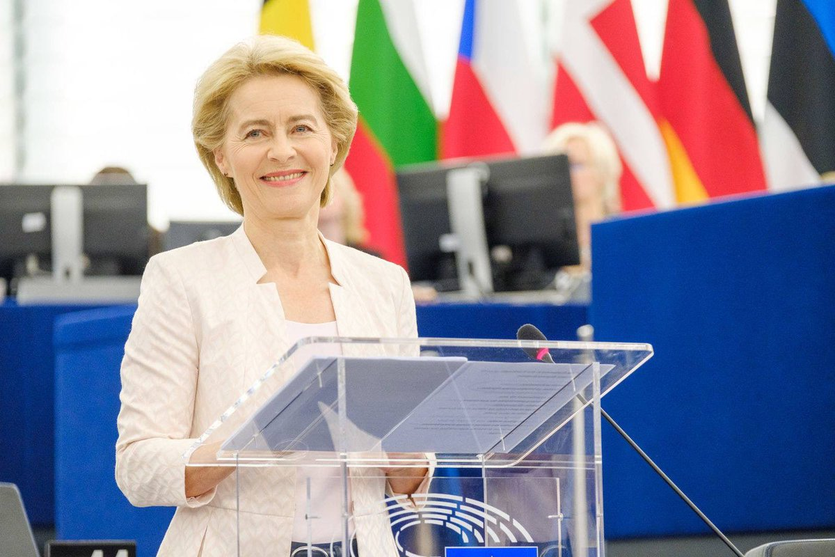 Congratulations to @vonderleyen as new elected & first female President of the @EU_Commission. The International Democrat Union wishes you good luck & a successful tenure to shape the political profile & strengthen the democratic structures of the EU. @IDU_Secretariat @epp @cdu
