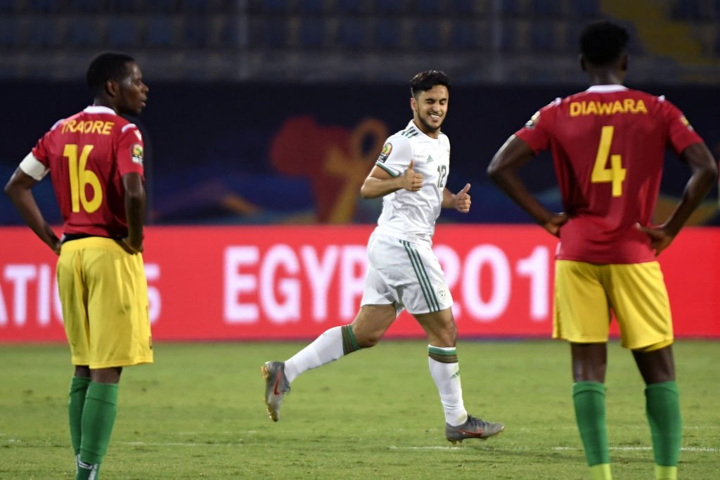 Best conversion rate at #AFCON2019 (5+ shots): 🥇 A. Ounas -- 🇩🇿 50.0% 🥈 M. Yattara -- 🇬🇳 40.0% 🥉 O. Ighalo -- 🇳🇬 36.4% wscrd.co/AFCON
